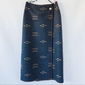RARE Vintage Ralph Lauren Southwestern Skirt
